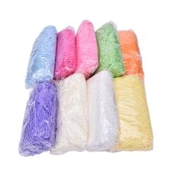 100g/Pack Shredded Tissue Paper Gift Bags Box Hamper Baker Fille white
