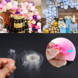 10M Balloon Strip Arch Party Connect Chain Plastband Garland