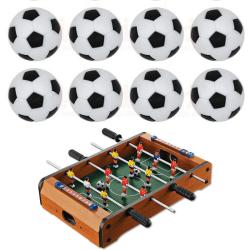 10pcs 32mm Plastic Soccer Table Foosball Ball Football Fussball n/a 0