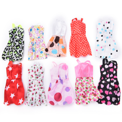 10pcs Beautiful Handmade Party Clothes Fashion Dress for Noble B