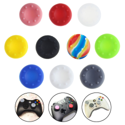 10X Analog Controller Thumb Stick Grip Thumbstick Cap Cover for
