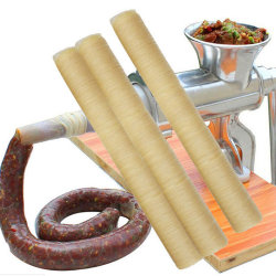 14m Natural sausage casings skins 20mm long small breakfast sau One Size