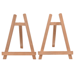 19.5*28cm Mini Wooden Cafe Table Number Easel Wedding Place Name 19.5*28cm