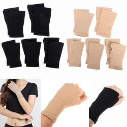 1pair Carpal Tunnel Thumb Hand Wrist Brace Support Arthritis Com Black S