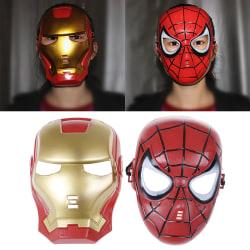 1Pc Superhero mask för barn och vuxna Avengers Spiderman Iron Man 1#
