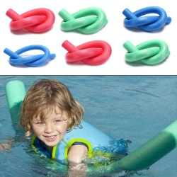 1pc swimming swim pool noodle water float aid foam float for chi Red 7*130