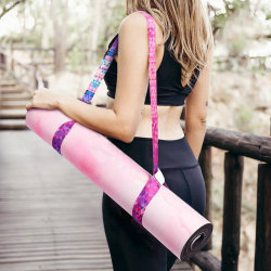1PC Yoga Mat Strap Stretch Justerbar Yoga Mat Carrier Axel