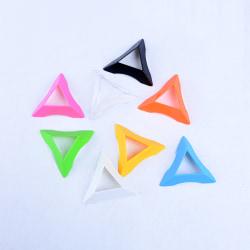 1Pcs 7.5cm Plastic Triangle Universal Magic Cube Base Accessorie Blue