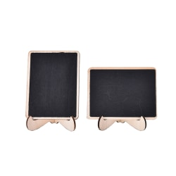 1pcs Mini Wooden Clip Blackboard Message Board Wedding Party Lol