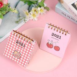 2020.8-2021.12 Mini Desktop Calendar Storage Box Timetable PlanS B