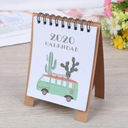 2020 Forest Animals Mini Desktop Paper Calendar  Daily Scheduler