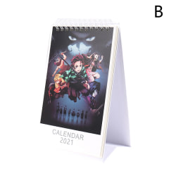 2021 Anime Demon Slayer Kimetsu No Yaiba Desk Calendar Daily Sch B