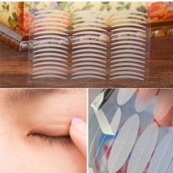 240 Pairs White Thin Invisible Double Eyelid Adhesive Eyes Tape  White One Size