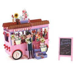 3D flottörhälsningskort Vykort Inbjudningar Födelsedagsfest Ch