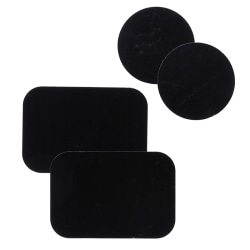 4Pcs metal plates adhesive sticker replace for car mount phone h One Size