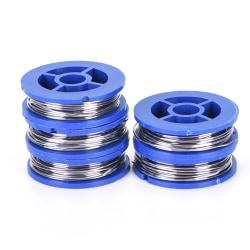 5 rullar 63/37 tenn / bly Rosin Core lödtråd 0,8 mm lödning w 1.7m