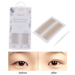 800st ögonlocksband Makeup Clear Lace Mesh Eyelid Stripe Eyelid