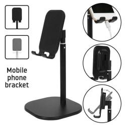 Adjustable Universal Tablet Stand Desktop Holder Mount Mobile Ph Silver