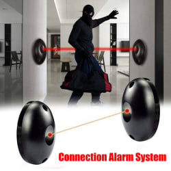Alarm Detector Infrared Beam Sensor Barrier For Gates, Doors, W