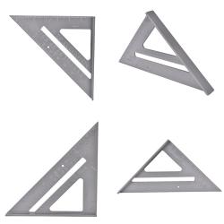 Aluminum Alloy Speed Square Protractor Miter Framing Measurement