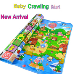Baby Kid Toddler Crawl Play Game Picnic Carpet Animal Letter Alp one size