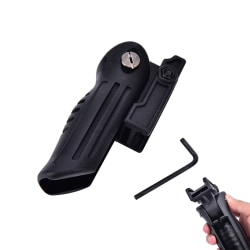 Black PA Foldable Tactical Foregrip Suitful for 20mm slideway Fo Black
