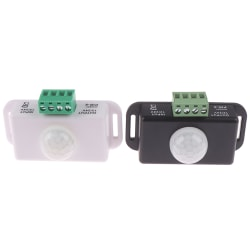 Body Infrared PIR Motion Sensor Switch for LED Light Strip Auto White
