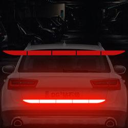 Car Reflectante Reflector Sticker Body Trunk Exterior Auto Acces Red
