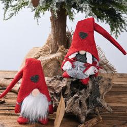 Christmas Faceless Doll Ornament Christmas Tree Hanging Ornamen Female