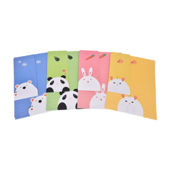Cute Animals Letter set Writing Stationary paper & Envelope for  rabbit