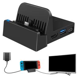 dockningsstation för Nintendo switch laddningsdocka 4k hdmi tv ada 48*36*21mm