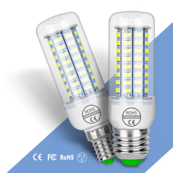 E27 E14 7W 9W 12W 15W 20W 25W 5730 SMD LED Corn Bulb Lamp Light  E14&24W