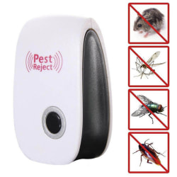 Electronic Ultrasonic Pest Reject Bug Mosquito Cockroach Mouse K Blue EU Plug