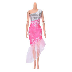 """Fashion Beautiful Handmade Party Clothes Dress for 9"""" Barbie Dol"""