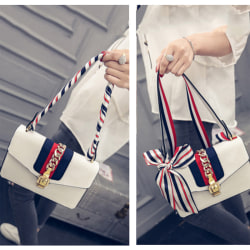 Fashion Ladies' Stylish Ribbon Bag Tied Handle Small Ribbon Sca A4