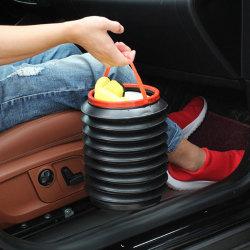 Hopfällbar soptunna för bil kan skräporgel för förvaring av bagage one size