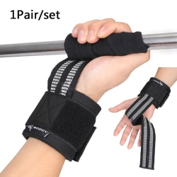 Gym Weight Lifting Strap Wrist Band Non-Slip Booster Band Fitnes onesize