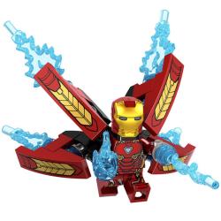Iron man MK50 super-british   brick super hero compatible legoIN One Size