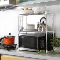 Multifunctional Microwave Oven Stainless Steel Shelf Storage Ra