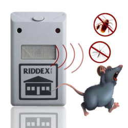 New Riddex Plus Pest Repellent Repelling Aid for Rodents Roaches EU plug