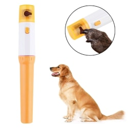 Pet Dog Cat Nail Grinder Trimmer Clipper Electric Pet Nail File  One Size