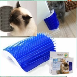 pet products cats supplies cat massage device scratching board m Blue