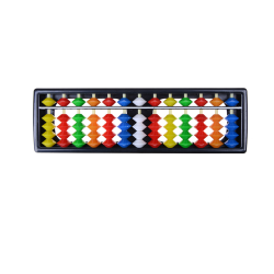 Portable Plastic Colorful Beads Abacus Arithmetic Soroban Calcu