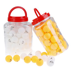 Professional 60Pcs Seamless Table Tennis Ping Pong Balls Sports  Yellow