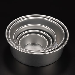 Round Aluminum Baking Tin Pan Mold Mould for Sandwich Cake Kitc 7''''