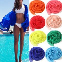 Sexy beach cover up women's sarong summer bikini cover-ups wrap  White