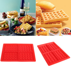 Silicone Waffles Muffins Mold Cake Chocolate Pan Bakeware Kitch