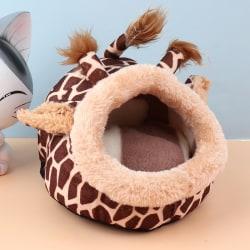 Soft Pet Cozy Guinea Pig Bed House Hamster Rat Hammock Nest Pad Gray L