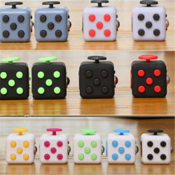 Squeeze Fun Stress Reliever Gifts Fidget Cube Relieves Anxiety a Black Green n/a