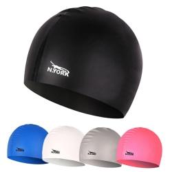Swimming Cap Waterproof Silicone Swim Pool Hat for Adult Men Wom Pink